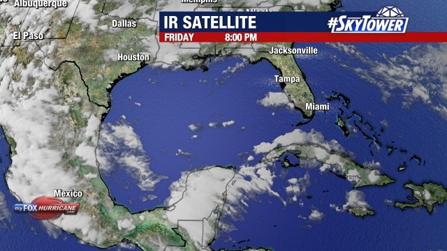 Gulf of Mexico Satellite View | Hurricane and Tropical Storm