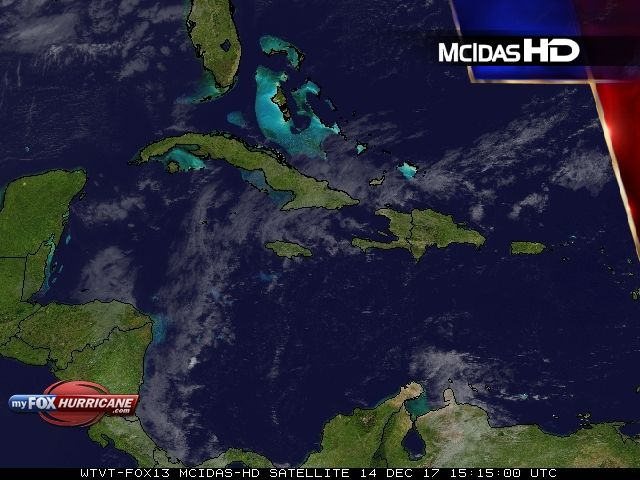 Caribbean Satellite View - Exclusive McIDAS HD