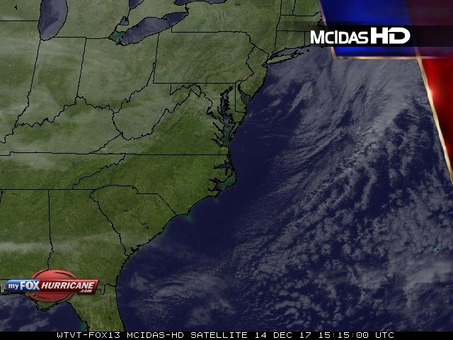 Mid-Atlantic Satellite View | Exclusive McIDAS HD