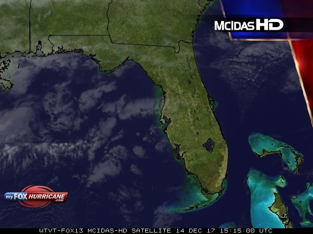 Florida Satellite View | Exclusive McIDAS HD