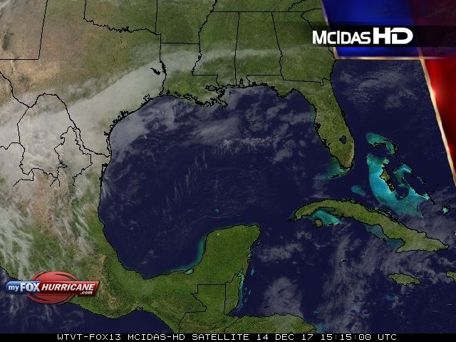 Gulf Coast Satellite View - Exclusive McIDAS HD