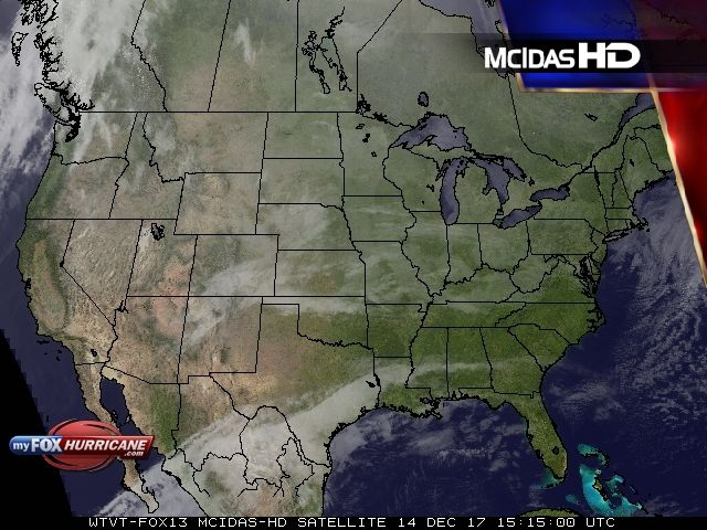 U.S. Satellite View - Exclusive McIDAS HD