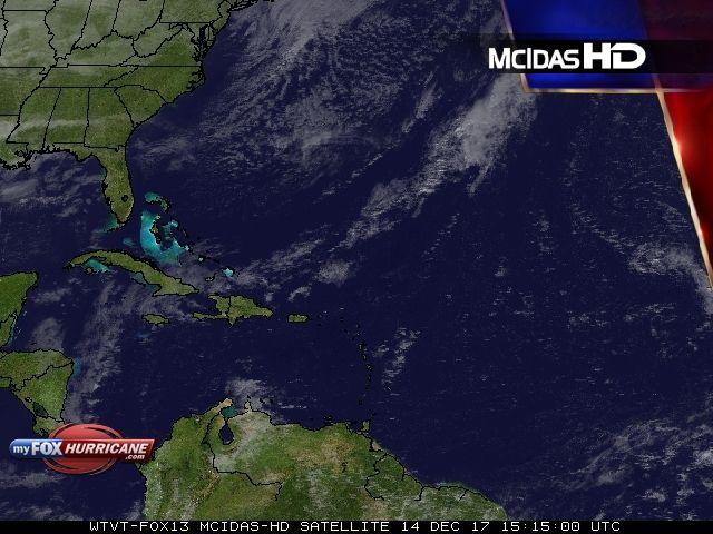 Atlantic Satellite View - Exclusive McIDAS HD