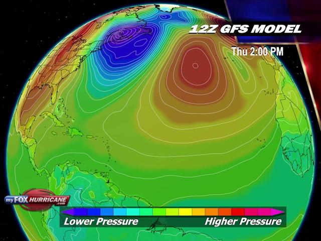 GFS Animated Hurricane Model