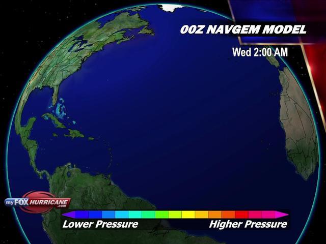 Animated NAVGEM Tropical Systems Model