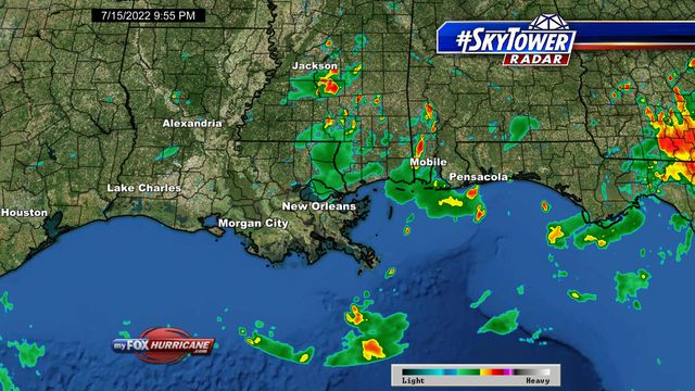 New Orleans Weather Map Bnhspine Com