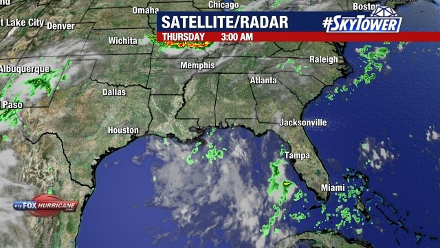 Southeastern U S  satellite-radar loop | FOX 13 Tampa Bay